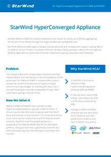 Vmware Vsan Ready Nodes With Starwind Hyperconverged Appliance