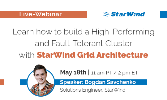 Accelerate your performance by deploying iSER to your StarWind infrastructure 2016-09-15